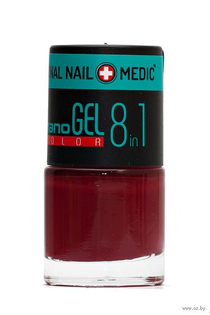 """Лак для ногтей """"Nano Gel Color"""" (тон: 15, турецкая гвоздика) — фото, картинка"""