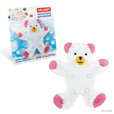 """Набор игрушек для купания """"Мишка"""" (4 шт.) — фото, картинка"""