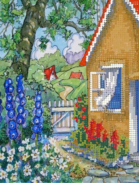 "Алмазная вышивка-мозаика ""Домик"" (250х190 мм; арт. БСА4-033) — фото, картинка"