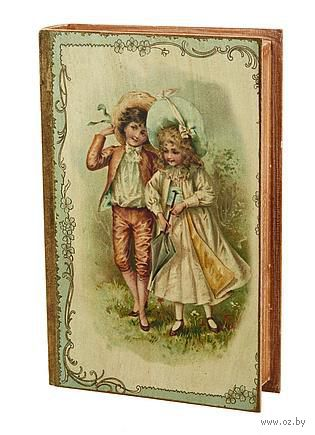 Шкатулка деревянная (270х180х70 мм; арт. 7790111)