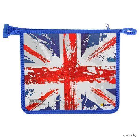 "Папка для тетрадей ""Британский флаг"" (А5) — фото, картинка"