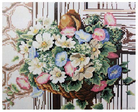 """Алмазная вышивка-мозаика """"Букет цветов"""" (400x500 мм) — фото, картинка"""