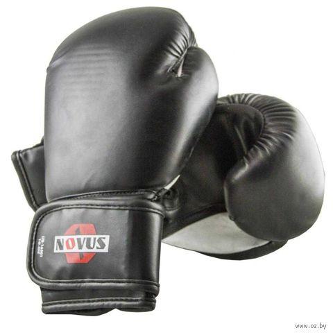 Перчатки боксёрские LTB-16301 (S/M; чёрные; 8 унций) — фото, картинка