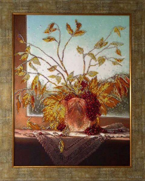 """Вышивка бисером """"Цвета осени"""" (497х373 мм) — фото, картинка"""