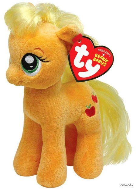 "Мягкая игрушка ""Пони Apple Jack"" (33 см) — фото, картинка"
