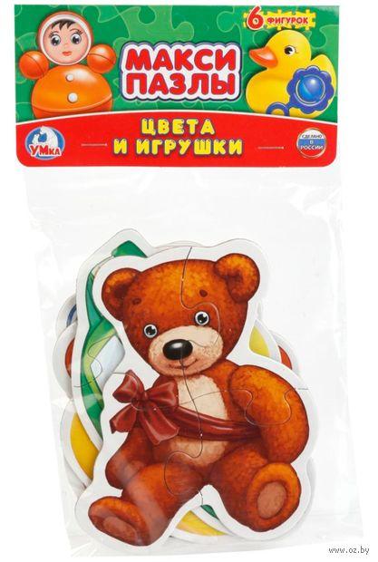 """Набор пазлов maxi """"Цвета и игрушки"""" (24 элемента) — фото, картинка"""