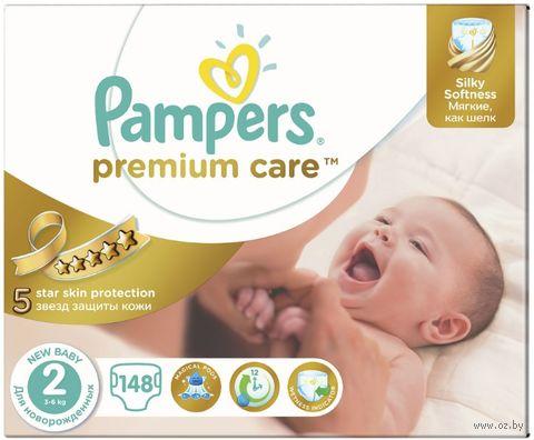 "Подгузники ""Premium Care New Baby"" (3-6 кг; 148 шт.) — фото, картинка"