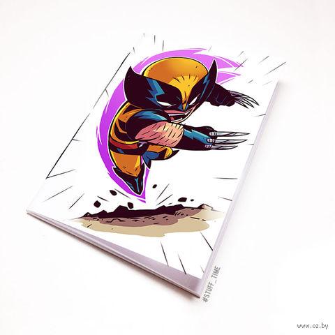 "Блокнот ""Люди Икс. Росомаха"" (А5; арт. 901) — фото, картинка"