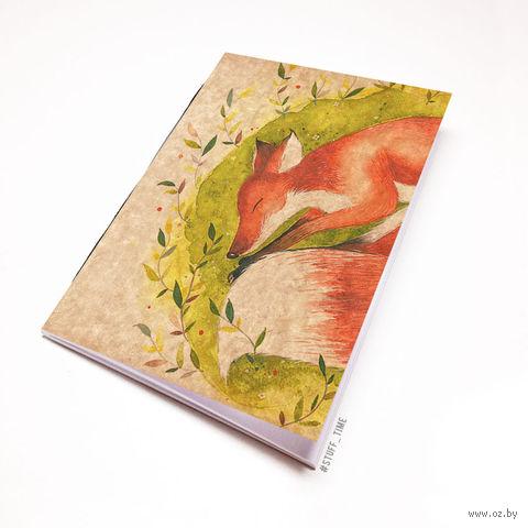 """Блокнот крафт """"Лиса"""" (А5; арт. 723) — фото, картинка"""