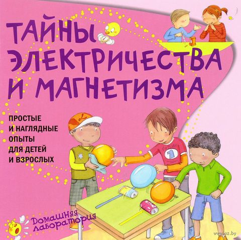 Тайны электричества и магнетизма. Простые и наглядные опыты для детей и взрослых — фото, картинка