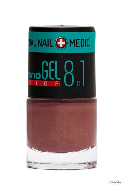"""Лак для ногтей """"Nano Gel Color"""" (тон: 17, малиновый перламутр) — фото, картинка"""