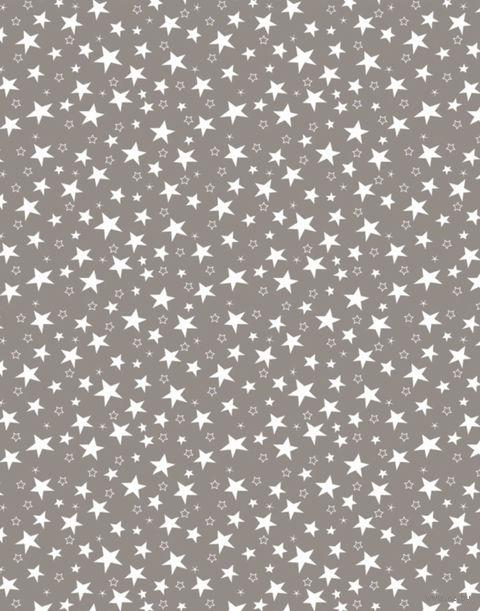 "Простыня хлопковая ""Stars Grey"" (145х220 см) — фото, картинка"