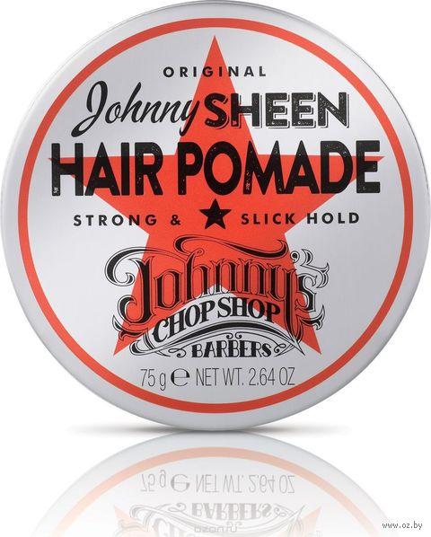 """Помадка для укладки волос """"Johnnys Chop Shop"""" сильной фиксации (75 г) — фото, картинка"""