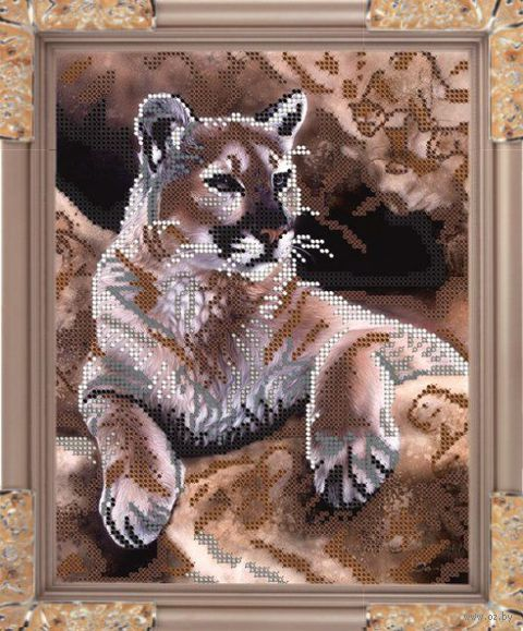 """Вышивка бисером """"Тигр"""" (арт. К-182)"""