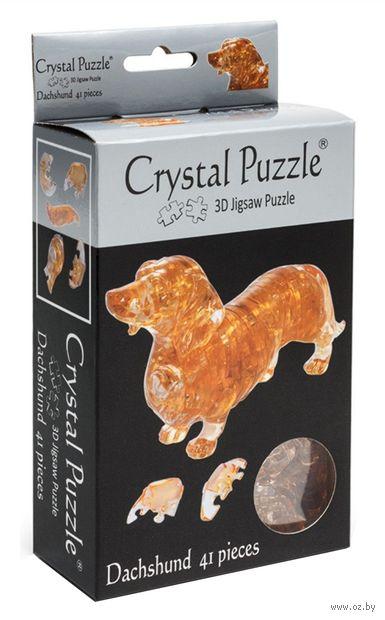 "Пазл-головоломка ""Crystal Puzzle. Такса"" (41 элемент) — фото, картинка"