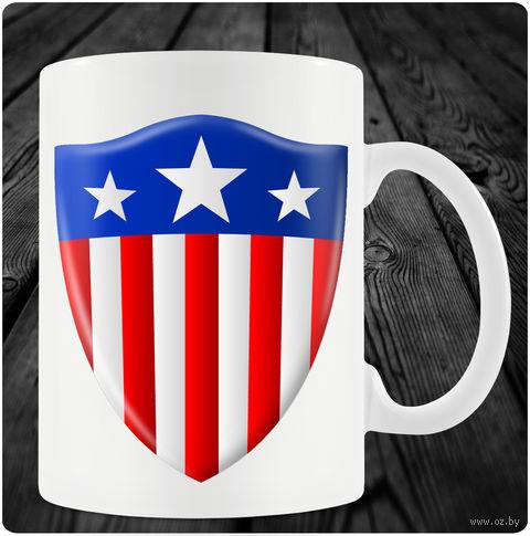 """Кружка """"Капитан Америка"""" (art. 7)"""