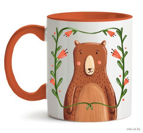 """Кружка """"Медведь"""" (арт. 230) — фото, картинка"""