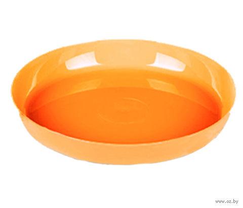 """Подставка для цветочного горшка """"Ага"""" (19,6 см; оранжевый) — фото, картинка"""