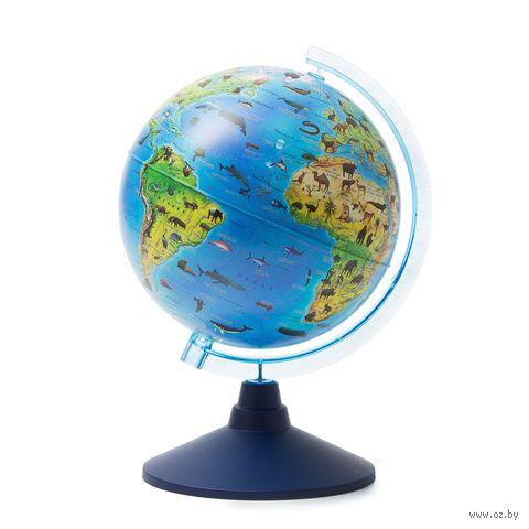 """Глобус """"Классик"""" (зоогеографический; 210 мм) — фото, картинка"""