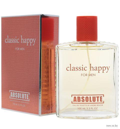 """Туалетная вода для мужчин """"Absolute Classic Happy"""" (100 мл) — фото, картинка"""