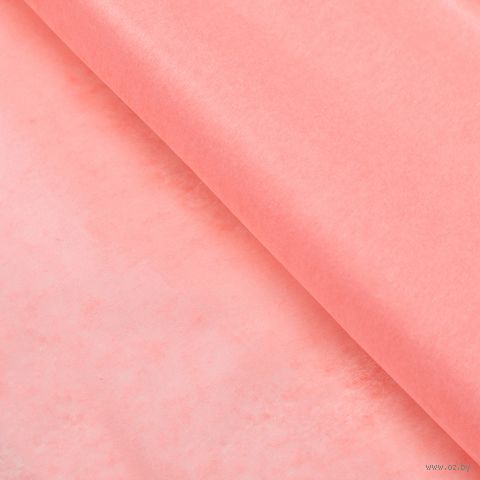 Бумага тишью (51х66 см; персиковая; 10 шт.) — фото, картинка