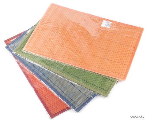 Подставка сервировочная бамбуковая окрашенная (45*30 см, арт. 261636)