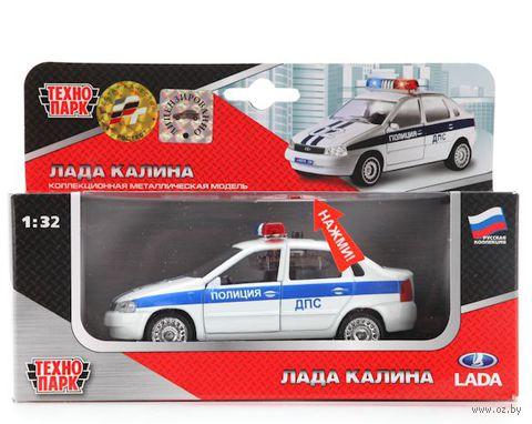 "Модель машины ""Lada Kalina. ДПС"" (масштаб: 1/32; арт. CT1049WB-P)"