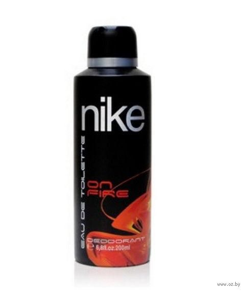"""Дезодорант парфюмерный для мужчин """"Nike. On Fire"""" (200 мл)"""