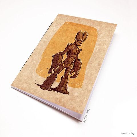 """Блокнот крафт """"Стражи Галактики"""" (А7; арт. 900)"""