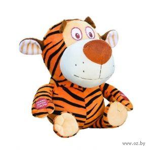 """Мягкая игрушка """"Тигр полосатик"""" (22 см) — фото, картинка"""