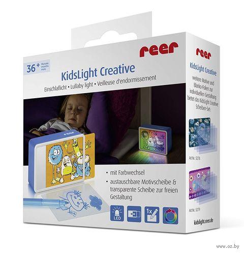 """Ночник детский """"KidsLights Creative. Монстр"""" (с вкладышем) — фото, картинка"""