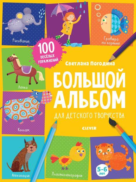 Большой альбом для детского творчества. 5-6 лет — фото, картинка