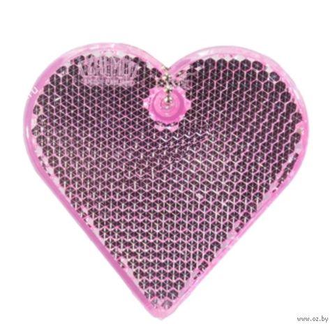 "Фликер ""Сердце"" (розовый; арт. 51009.66)"
