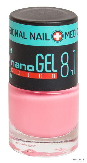 """Лак для ногтей """"Nano Gel Color"""" (тон: 22, ядовито-розовый) — фото, картинка"""
