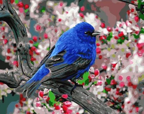"Картина по номерам ""Яркие краски весны"" (400х500 мм) — фото, картинка"