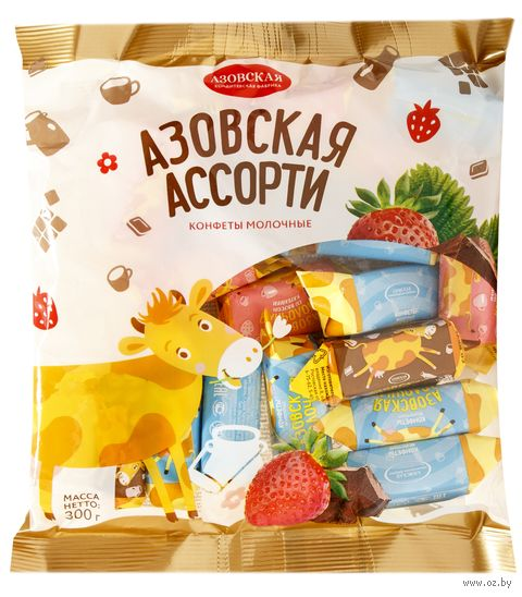 "Набор конфет ""Азовская ассорти"" (300 г) — фото, картинка"