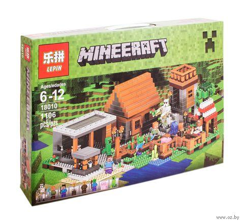 "Конструктор Minecraft ""Деревня"" — фото, картинка"