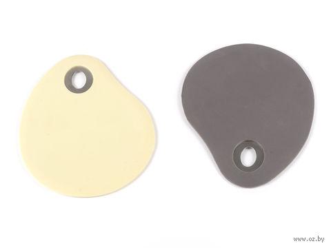 Скребок для теста силиконовый (13х10 см)