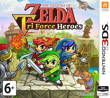 The Legend of Zelda: Tri Force Heroes (Nintendo 3DS)