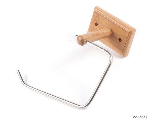 Держатель для туалетной бумаги металлический (190х150х100 мм) — фото, картинка