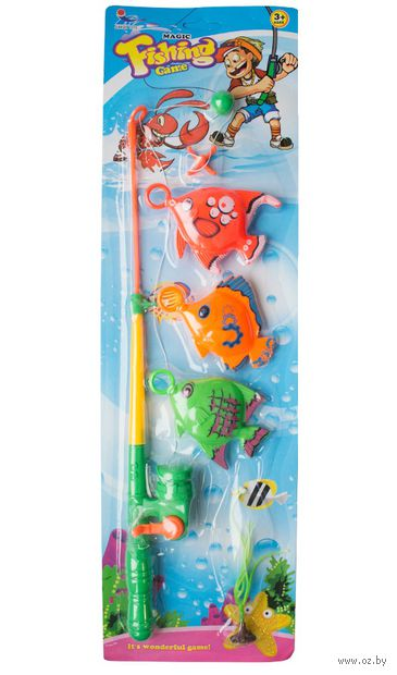 """Игровой набор """"Веселая рыбалка"""" (арт. 1059882-6088-2) — фото, картинка"""