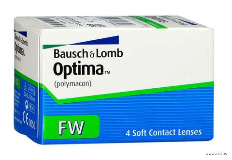 "Контактные линзы ""Optima FW"" (1 линза; -3,5 дптр; 8,7 мм) — фото, картинка"