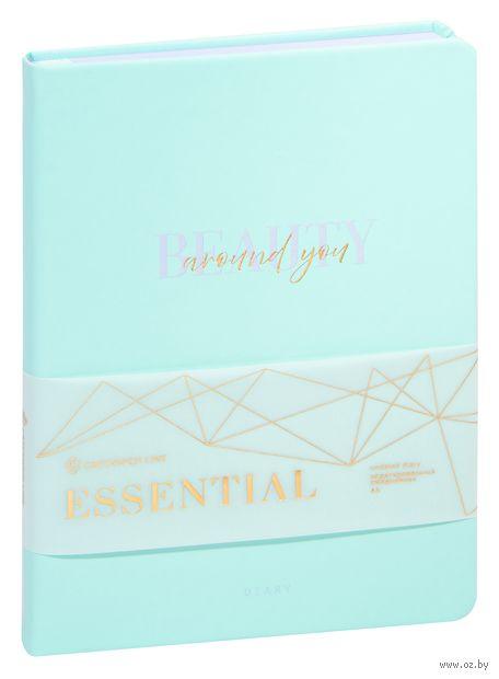 """Ежедневник недатированный """"Essential. Mint"""" (А5) — фото, картинка"""