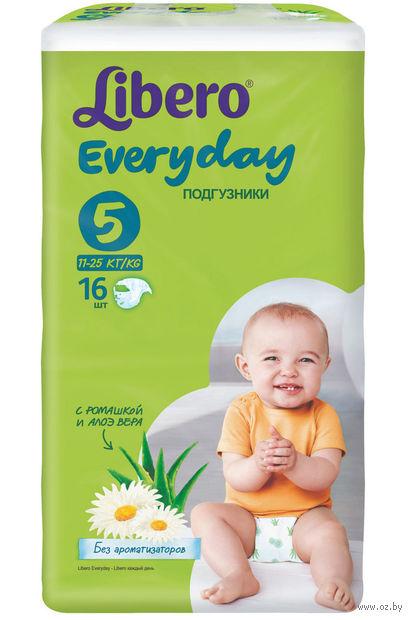 """Подгузники для детей Libero Everyday """"Extra Large 5"""" (11-25 кг.; 16 шт)"""
