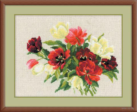 """Вышивка крестом """"Тюльпаны"""" (арт. 1065)"""