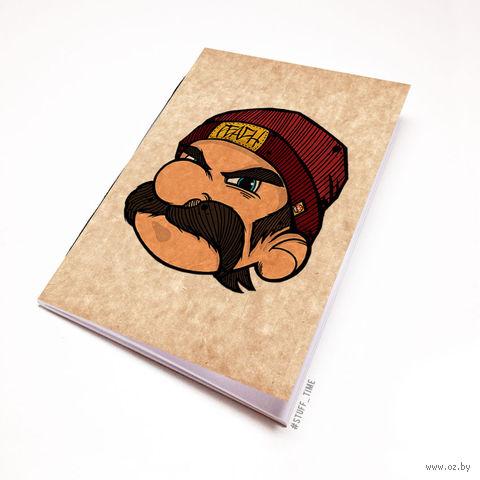 """Блокнот крафт """"Марио"""" (А7; арт. 282) — фото, картинка"""