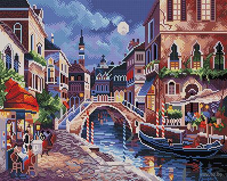 """Алмазная вышивка-мозаика """"Ночная Венеция"""" (400х500 мм) — фото, картинка"""