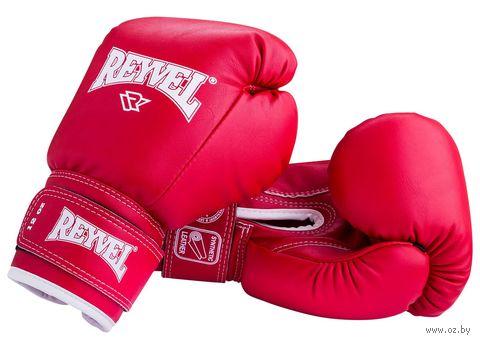 Перчатки боксёрские RV-101 (6 унций; красные) — фото, картинка
