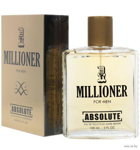 "Туалетная вода для мужчин ""Absolute Millioner"" (100 мл) — фото, картинка"
