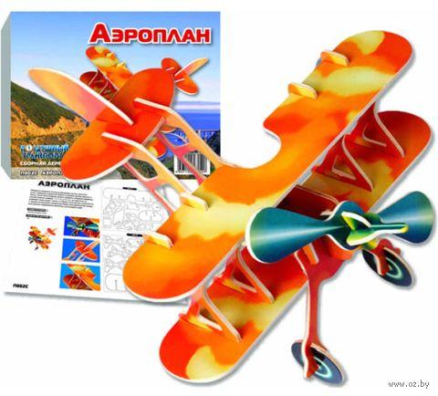 """Сборная деревянная модель """"Аэроплан"""" — фото, картинка"""